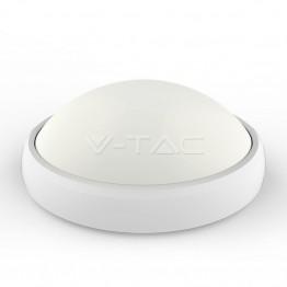 12W LED Овално Тяло Външен Монтаж Бяло Тяло IP54 Бяла Светлина