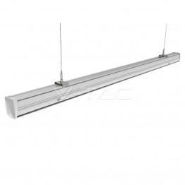 50W LED Линеен Осветител Главен Неутрално Бяла Светлина Двойно Асиметричен