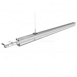 50W LED Линеен Осветител Подчинен Неутрално Бяла Светлина Двойно Асиметричен