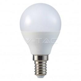 LED Крушка - SAMSUNG ЧИП 5.5W E14 P45 Бяла Светлина
