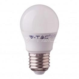 LED Крушка - SAMSUNG ЧИП 5.5W E27 G45 Топло Бяла Светлина
