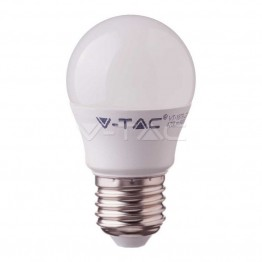 LED Крушка - SAMSUNG ЧИП 5.5W E27 G45 Бяла Светлина