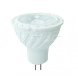 LED Крушка - SAMSUNG ЧИП 6.5W GU5.3 MR16 110° 3000K