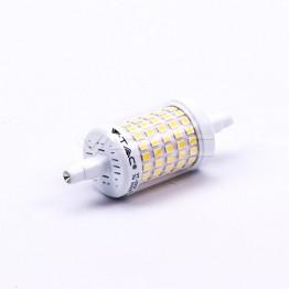 LED Крушка 7W R7S 78 mm Пластик 6400K