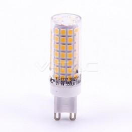 LED Крушка - 6W G9 Пластик 4000K