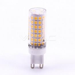 LED Крушка - 6W G9 Пластик 6400K