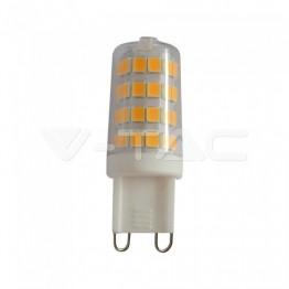 LED Крушка - 3W G9 Пластик 3000К 6бр./Сет
