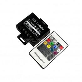 LED RGB Контролер RF Дистанционно Управление 20 бутона Малко