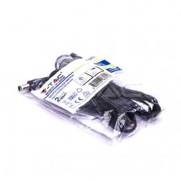 LED Ключ Touch Димер Сребро + Черно