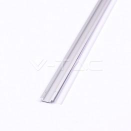 Aluminum Profil 2000 x 24.7 x 7mm Milky