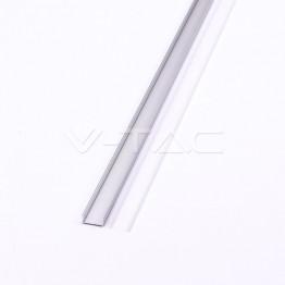 Aluminum Profil 2000 x 23.5 x 10mm Milky