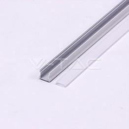 Aluminum Profile 2m 17.2 x 15.5 mm White Housing