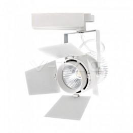 33W LED Прожектор Релсов Монтаж SAMSUNG CHIP Бял 4000K