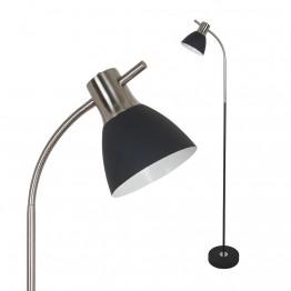 Лампион 60W E27 Черен Пясък и Никел