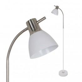 Лампион 60W E27 Бял Пясък и Никел