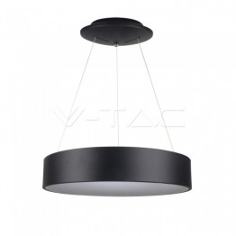 20W LED Пендел Димиращ Черен 3000К