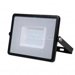 30W LED Прожектор SAMSUNG Чип Топло Бяла Светлина Черно Тяло