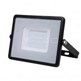 30W LED Прожектор SAMSUNG Чип Бяла Светлина Черно Тяло