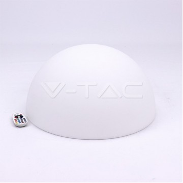 LED Лампа Полукръг RGB D50*26CM