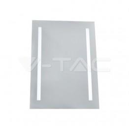 17W LED Огледало Правоъгълник IP44 Anti Fog 6400K