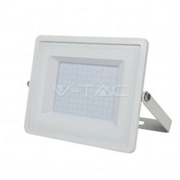 100W LED Прожектор SAMSUNG Чип Топло Бяла Светлина Бяло Тяло