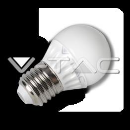 LED Крушка - 4W E27 G45 Топло Бяла Светлина