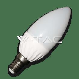 LED Крушка - 4W E14 Кендъл Неутрално Бяла Светлина