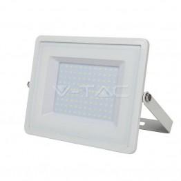 100W LED Прожектор SAMSUNG Чип Бяла Светлина Бяло Тяло