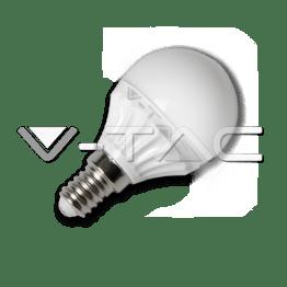 LED Крушка - 4W E14 P45 Неутрално Бяла Светлина