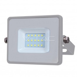 10W LED Прожектор SAMSUNG ЧИП SMD Сиво Тяло 3000К