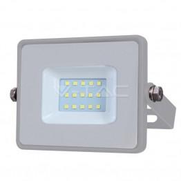 10W LED Прожектор SAMSUNG ЧИП SMD Сиво Тяло 6400К