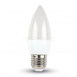 LED Крушка - 5.5W E27 Кендъл Топло Бяла Светлина