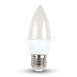 LED Крушка - 6W E27 Кендъл Неутрално Бяла Светлина