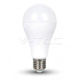 LED Крушка - 17W E27 A65 Термо Пластик Топла Бяла Светлина