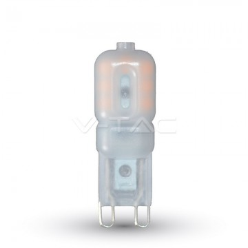 LED Крушка - 2.5W 230V G9 Пластик Топло Бяла Светлина