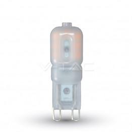 LED Крушка - 2.5W 230V G9 Пластик Бяла Светлина