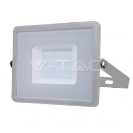 30W LED Прожектор SAMSUNG ЧИП SMD Сиво Тяло 6400К