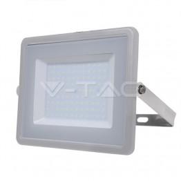 100W LED Прожектор SAMSUNG ЧИП SMD Сиво Тяло 6400К