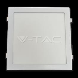 24W LED Premium Панел - Квадрат Топло Бяла Светлина