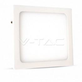 6W LED Панел Външен монтаж Premium - Квадратен Модул Топло Бяла Светлина