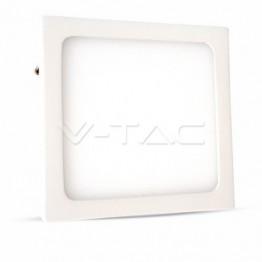 6W LED Панел Външен монтаж Premium - Квадратен Модул Бяла Светлина