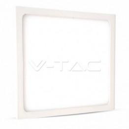 12W LED Панел Външен монтаж Premium - Квадратен Модул Бяла Светлина