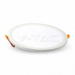 15W LED Slim Панел Кръг Неутрално Бяла Светлина