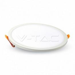 22W LED Slim Панел Кръг Неутрално Бяла Светлина