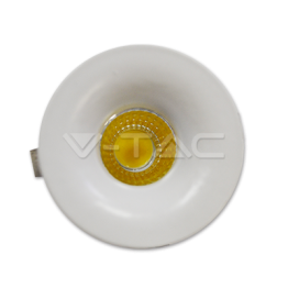 3W LED Downlight Fixed Type Round White