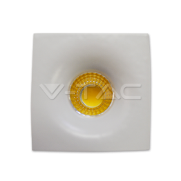 3W LED Downlight Fixed Type Square White