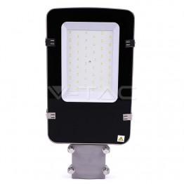LED Улична Лампа SAMSUNG ЧИП - 30W Сиво Тяло 6400К