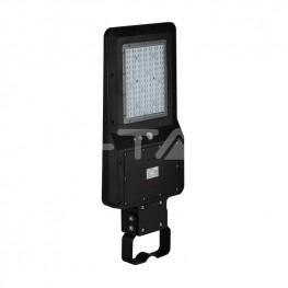 40W Улична Лампа Соларна Черно Тяло 6000К 120lm/W