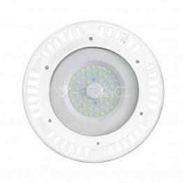 50W LED SMD Камбана UFO Бяло Тяло Бяла Светлина 120°