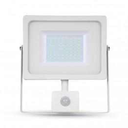 50W LED Прожектор SMD Сензор Бяло Тяло Топло Бяла Светлина